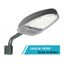 24W 2500lm Street Light IP65 Waterproof Outdoor Use Wall Post Lights 144Leds