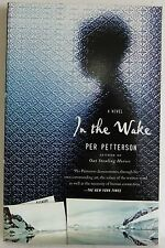 In the wake Per Petterson Mystery about bookseller life fiction book paperback