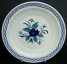 1980's Adams Blue Baltic Pattern Sm Side or Bread Size Plates 16cm - Look in VGC