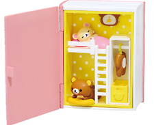 Rilakkuma Happy Little Book Bed Room Japan import NEW Re-Ment