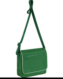 Supreme x LACOSTE Small Messenger Bag Green