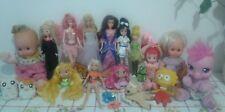 Lotto bambole barbie,disney,winx,pixie,pretty cure,doremi,migliorati,sabrina..