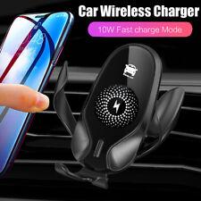 10 Вт-Gravity Qi автомобильный беспроводное зарядное устройство Pad Mount держатель для iPhone 11 Pro Xs Max Xr