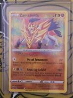 Zamazenta V Amazing Rare Holo Vivid Voltage 102/185 Pokemon Card TCG