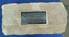 Antique Architectural Usa White House 1790s Aquia Creek Va Sandstone Artifact