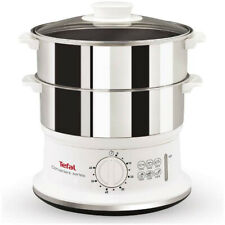 Tefal 6 Litre Stainless Steel 2-tier Food Steamer VC1451 *Free Delivery*
