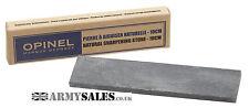 OPINEL 10cm Pocket NATURAL SHARPENING STONE Survival Knife Multi Tool Sharpener