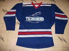 Vintage Durene Dureen Rec Beer League Hockey Jersey Ny Rangers Style Unique Cool