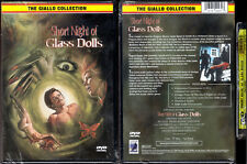 DVD Giallo SHORT NIGHT OF GLASS DOLLS Aldo Lado UNRATED Anchor Bay WS R1 OOP NEW