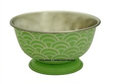 Indian Hand Oil Painted Stainless Steel Smooth Rolled Edge Resistant Bowl Tackle