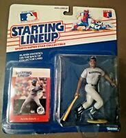 Alvin Davis 1988 Baseball Starting Lineup Figure Mariners w/ Player Card Sealed