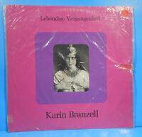KARIN BRANZELL LEBENDIGE VERGANGENHEIT LP AUTOGRAPHED GREAT CONDITION! VG++/VG+!