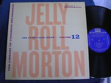 Jelly Roll Morton Library Congress Recordings Vol 12/1955/Riverside RLP 9012/M-