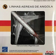 Inflight 500 - 1/500 Boeing 747-300 TAAG Angalo Reg# D2-TEA (Diecast) IF5743002