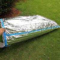 Emergency Sleeping Bag Thermal Waterproof Reusable Survival Camping Travel Bag