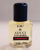 MINI Perfume ✿ EAU de GUCCI CONCENTRÉE ✿ Miniature Parfum (7,5ml. = 0.25 fl.oz)
