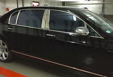 Bentley Continental Flying Spur chrome PILLAR POST TRIM stainless steel sedan