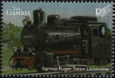 Rügen Narrow Gauge Railway Germany DRB Class 99.46 Steam Train Locomotive Stamp