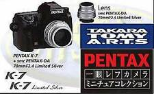 TAKARA TOMY ARTS Gashapon Pentax CAMERA MINIATURE K-7