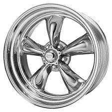 (2) American Racing TORQUE THRUST II Wheels Torq VN515 5x4.75 17x7 Chevy 7761