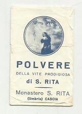 91156 BUSTA VUOTA POLVERE DI SANTA RITA