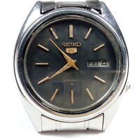 Vintage Seiko Automatic Movement Mens Analog Day Date Dial Wrist Watch C86