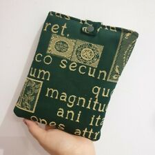 More details for brand new handmade latin fabric book cover made by me, book case