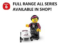 Lego minifigures skater girl series 6 (8827) unopened new factory sealed