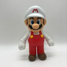 New Super Mario Bros. Wii  Fire Mario PVC Plastic Action Figure Doll Toy 9""