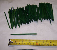 """100 New Green 4"""" Wood Florist Picks Stakes Floral Craft Free USA Shipping"""