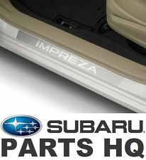 2012-16 Subaru Impreza OEM Front & Rear Side Sill Plates (Set of 4) - E101SFJ000