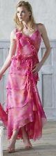 Cassandra Stone Mac Duggal Prom Long Gown Dress, Silk, Size 8