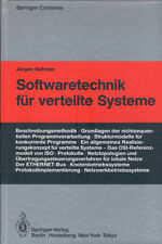 Nehmer, Softwaretechnik f verteilte Systeme, Software Technik, Springer 1985