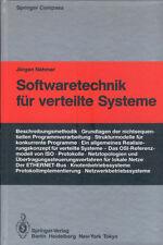 Nehmer, Softwaretechnik f verteilte Systeme, Software Technik, Springer 1985