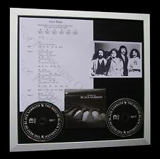 BLACK SABBATH Iron Man LTD CD QUALITY MUSIC FRAMED DISPLAY+EXPRESS GLOBAL SHIP!