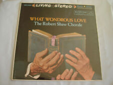 Living Stereo ROBERT SHAW what wondrous love LP LSC-2403 Record '60 ~SEALED~