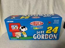 Action 2000 Jeff Gordon DuPont Peanuts Snoopy 24 NASCAR 1:24 LIMITED -SHIPS FREE