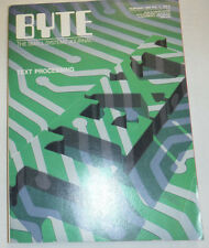 Byte Magazine Text Processing February 1986 111314R1
