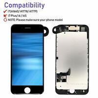For iPhone 7 A1778 A1660 LCD Screen Digitizer Replacement Camera Assembly