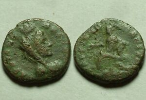 Genuine ancient Roman coin Markianopolis Moesia inf Veiled turreted Tyche Cybele