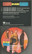 COLOR ME BADD I adore Me Amor w/ 3 RARE MIXES PROMO Radio DJ CD single 1991 USA