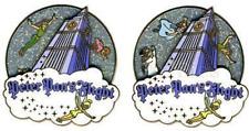 Disney Pin 45583 Peter Pan's Flight Attraction Wendy John Michael Flying Spinner