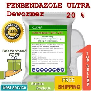 Powder 20% De-wormer Panacur Fendeworm Safe Guard Dog Dewormer Treatment Worm