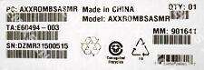 Intel AXXROMBSASMR Integrated RAID I/O Expansion Module New Bulk Packaging