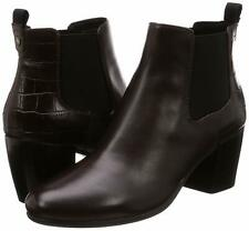 87200784bf8fa1 GEOX D New Lucinda A Bottes Bottines Cuir marron Femme - Taille 39 NEUF NEW