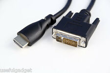 Premium 6Ft. HDMI Male to DVI-D 24+1 Male Gold Adapter Cable HDTV Cord