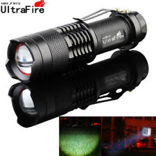 20000LM Adjustable Zoomable T6 LED Flashlight Torch Hunting  14500 Zoomable v