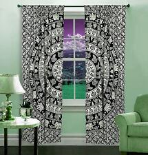 Mandala Fenster Vorhänge Indische Drape Balkon Zimmer Dekor Vorhang Boho Setz