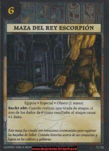 Anachronism - Mace Of The Scorpion King 75/100 / Set 2 Spa