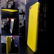 Apple iPhone 6 Micro Thin Case Scratch  Protection Yellow  SwitchEasy